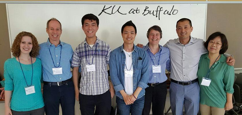 KU Linguistics was well represented at the recent Tonal Aspects of Languages conference held in Buffalo, NY.